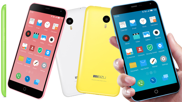 Meizu M1 Note - очередная доступная копия смартфона iPhone 5c