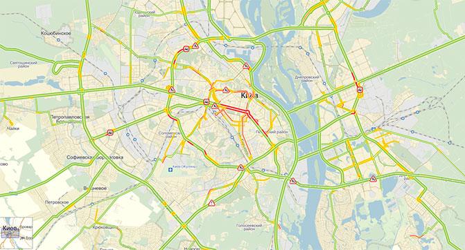 «Яндекс.Карты» будут получать информацию о дорожных событиях от ГАИ