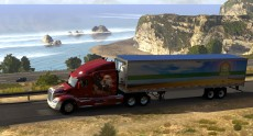 Час геймплея American Truck Simulator – новой игры от создателей Euro Truck Simulator