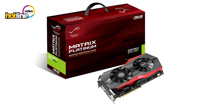 Видеообзор ASUS GTX 980 MATRIX Platinum