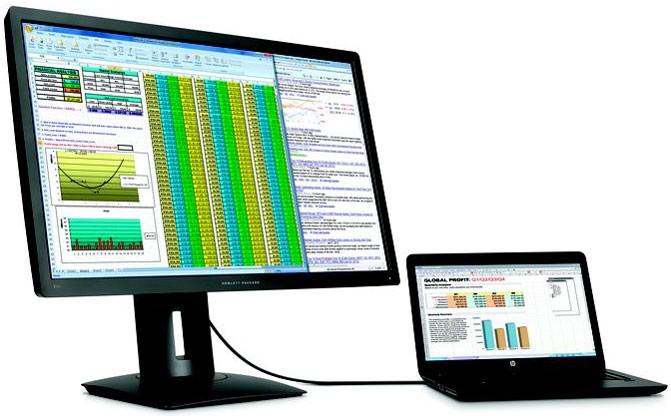 HP анонсировала мониторы с высоким разрешением изображения