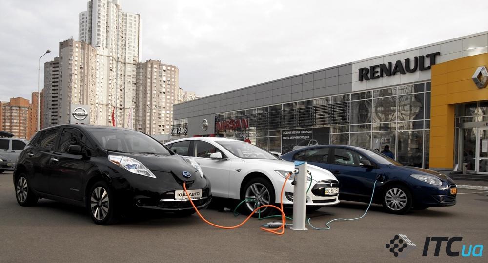 тесла автомобиль в украине