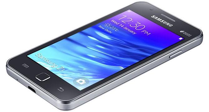 Samsung Z1 - первый смартфона на базе ОС Tizen