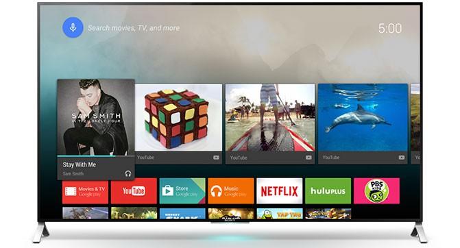 Sony, Sharp и Philips выпустят телевизоры на базе Android TV