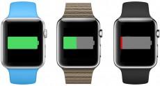 Время автономной работы Apple Watch в режиме постоянного отображения времени – всего три часа