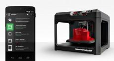 Приложение MakerBot для Android позволяет управлять 3D-принтером посредством смартфона