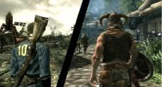 Fallout и Skyrim: кто из героев победит
