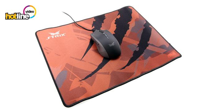 Видеообзор игровой мыши ASUS Strix Claw и игровых поверхностей ASUS Strix Glide