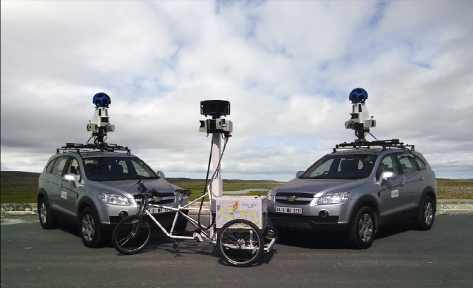 Google street view car2