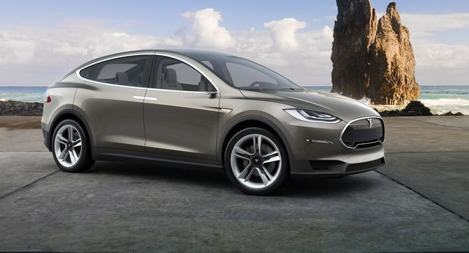 электромобили тесла модель х цена