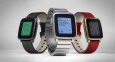 Pebble представила премиум-версию «умных» часов Time из нержавеющей стали