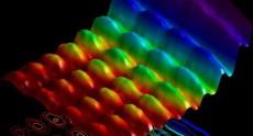 Первая фотография, где видно поведение света как волны и как частицы