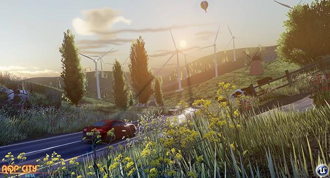 Как выглядела бы игра GTA V на движке Unreal Engine 4