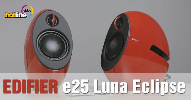 Видеообзор мультимедийной акустики Edifier e25 Luna Eclipse
