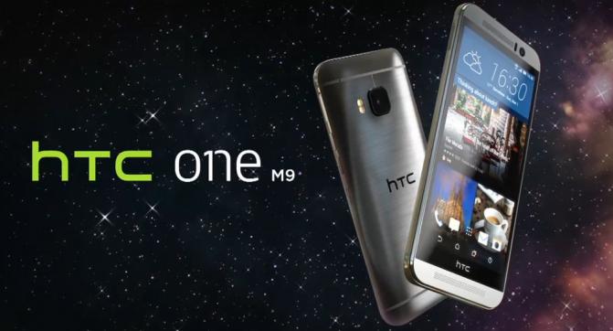 MWC2015 - HTC One M9