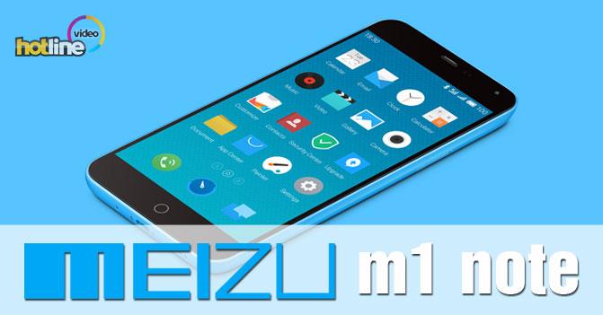Видеообзор смартфона Meizu M1 Note