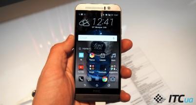 Первый взгляд на смартфон HTC One M9