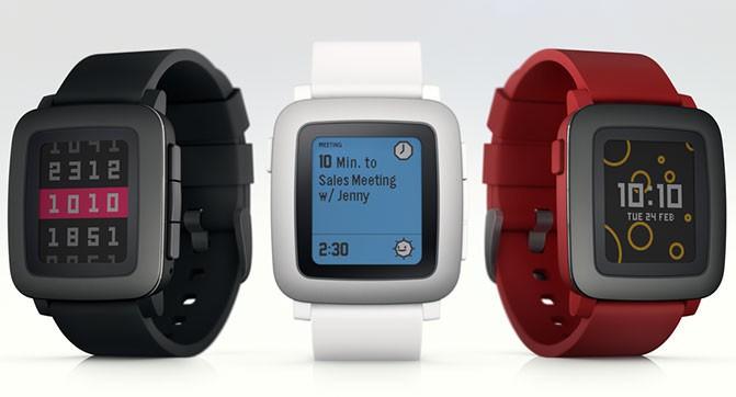 Проект умных часов Pebble Time собрало на Kickstarter более $20 млн