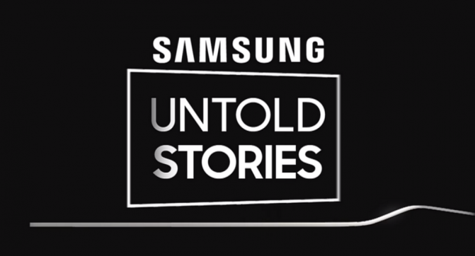 Samsung Untold Stories Livestream