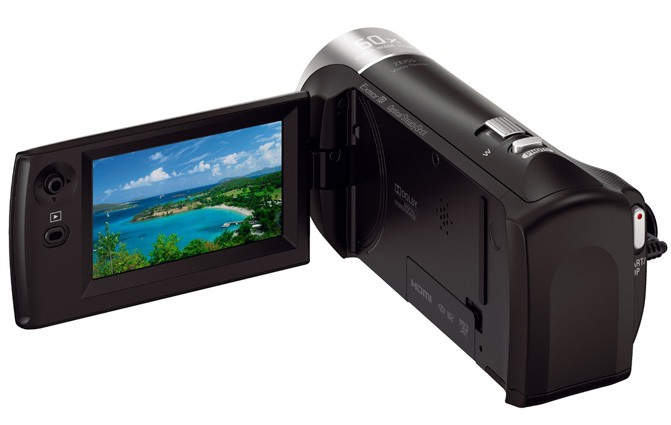 Sony представила в Украине новые камеры Handycam