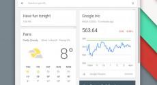 Бета-версия Chrome OS получила новую панель запуска приложений с интегрированным Google Now