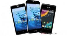 Acer привезла на MWC 2015 несколько новых смартфонов: Liquid M220, Z220, Z550 и Jade Z