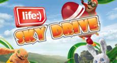 life:) представил игру Sky Drive, которая позволяет обменивать баллы на реальные бонусные SMS и мегабайты