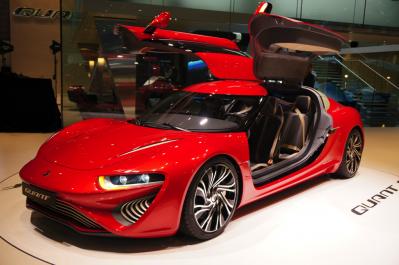 Электрический суперкар Quant F: 1090 «лошадей», 100 км/ч за 2,8 с и запас хода на 800 км
