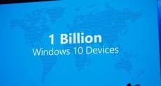 Microsoft: Windows 10 будет на одном миллиарде устройств через 2-3 года