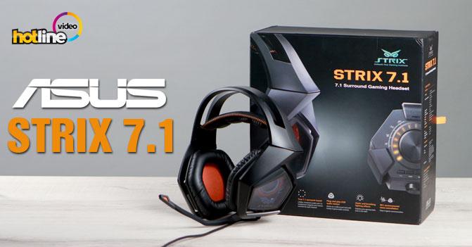 Видеообзор игровой гарнитуры ASUS Strix 7.1
