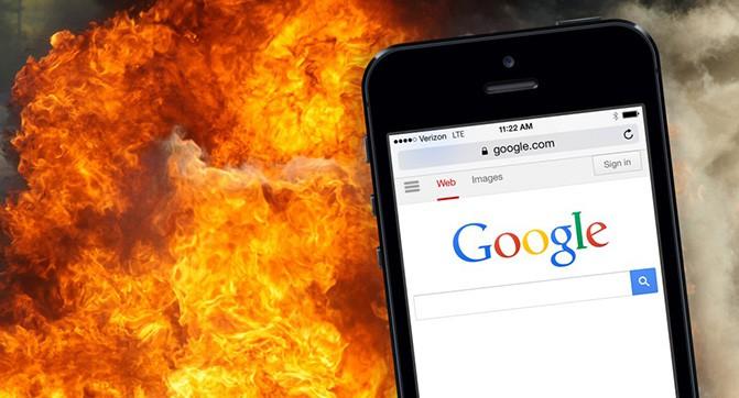 В поисковой выдаче Google теперь учитывается оптимизация сайта для мобильных устройств