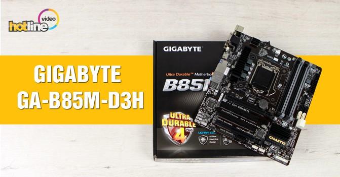 GIGABYTE-GA-B85M-D3H_video