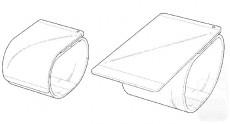 LG патентует смартфон, сворачивающийся в браслет