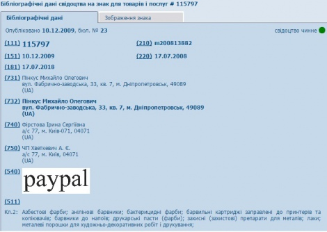 PayPal Ukraine fail