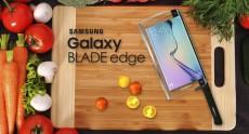 Представлен Samsung Galaxy BLADE Edge – первый в мире «умный» нож с функциональностью смартфона