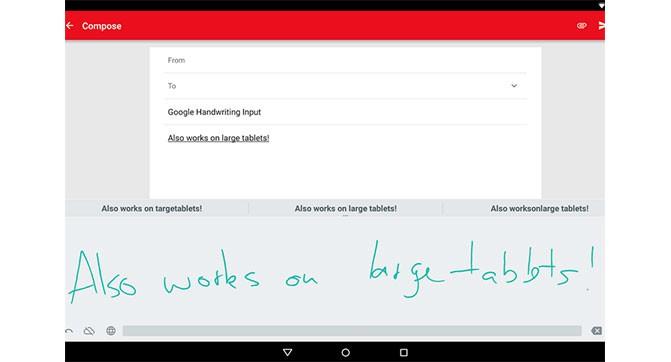 Google выпустила мобильное приложение для распознавания рукописного текста