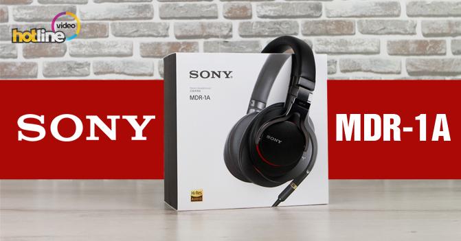 Видеообзор наушников Sony MDR-1A