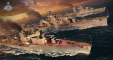 Пакеты предзаказа World of Warships можно купить уже сейчас, три премиум-корабля обойдутся в 1400 грн