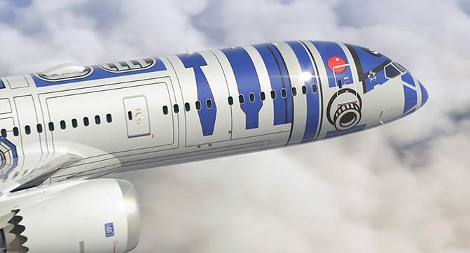 Авиакомпания ANA раскрасит самолёт в цвета робота R2-D2