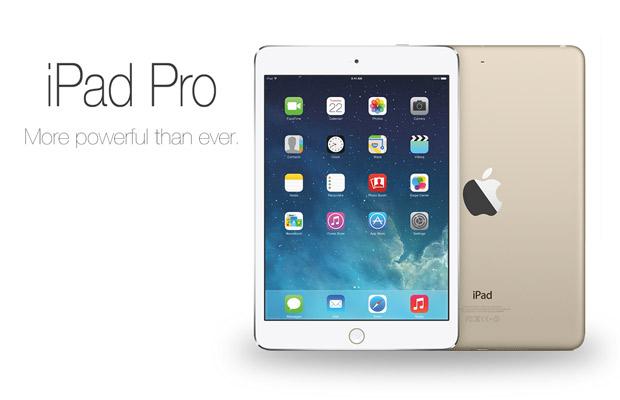Крупный планшет iPad Pro получит 4 динамика и два интерфейсных разъёма