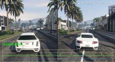 Сравнение fps в GTA V на PS4 и ПК (i3-4130/GTX 750 Ti) при одинаковой графике