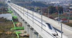 Установлен рекорд скорости движения маглев поезда – 590 км/ч (обновлено, уже 603 км/ч)