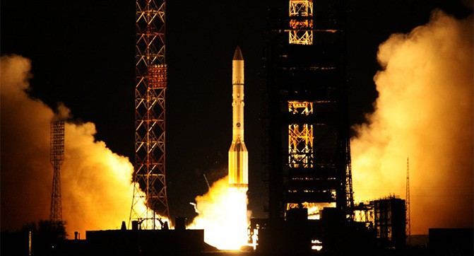 Она упала. Запуск ракеты «Протон» с мексиканским спутником завершился неудачно