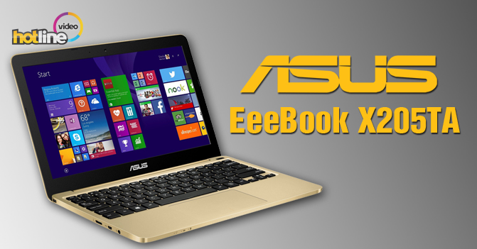 Видеообзор ASUS EeeBook X205TA