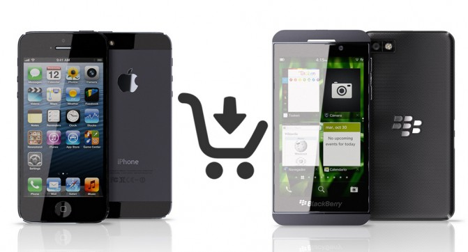 Apple & BlackBerry