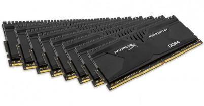 Kingston анонсирует комплект памяти DDR4-3000 объемом 128 ГБ