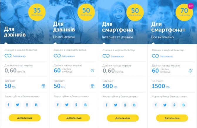 Kyivstar tariffs 2015 (2)