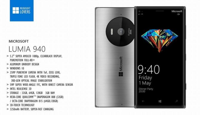 Microsoft Lumia 940, Microsoft Lumia 940 XL (2)