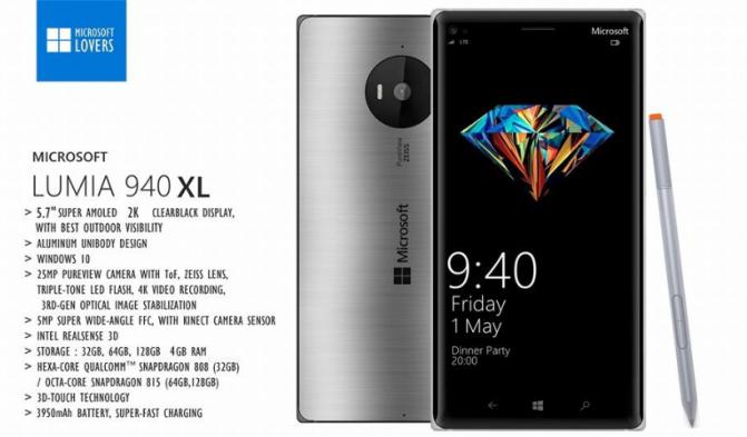 Microsoft Lumia 940, Microsoft Lumia 940 XL (3)