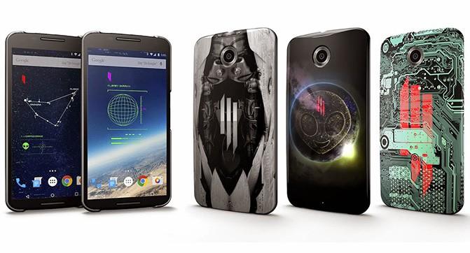 Google и Skrillex выпустили ограниченную партию «живых» чехлов для смартфонов